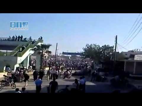 Syrien Idlib Maarat an-Numan 10.05.2011 : Solidarität  mit Daraa