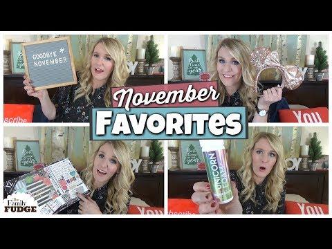November Favorites || TV, Food + Bath and Body Works Haul