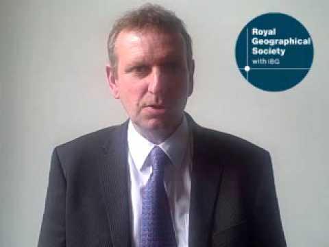 Graham Goldup, winner of Ordnance Survey award