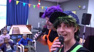 Kindershow voor het AZC in Middelburg 02-05-2019 - Tikkie & Taco KinderTV