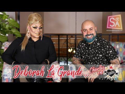 Deborah La Grande DragQueen   Johnny Carmona   Charlas en Ramona