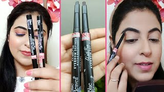 *NEW Blue Heaven Eyebrow Definer | Affordable Eyebrow Pencil | Review & Demo | Payals Palette