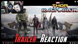 Thor: Ragnarok Comic Con - Angry Trailer Reaction!