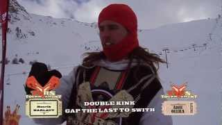 S.K.A.T.E. on Snow : Henrik Harlaut VS Antti Ollila / Quarter Finals - VARS TOURNAMENT