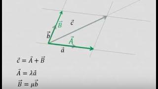 Коллинеарность и разложение векторов. Урок 3. mp4