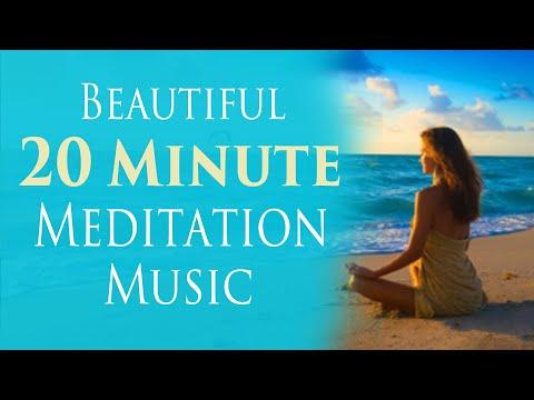 Beautiful 20 Minute Meditation Music- for Meditation, Relaxation, Sleep, Power Nap