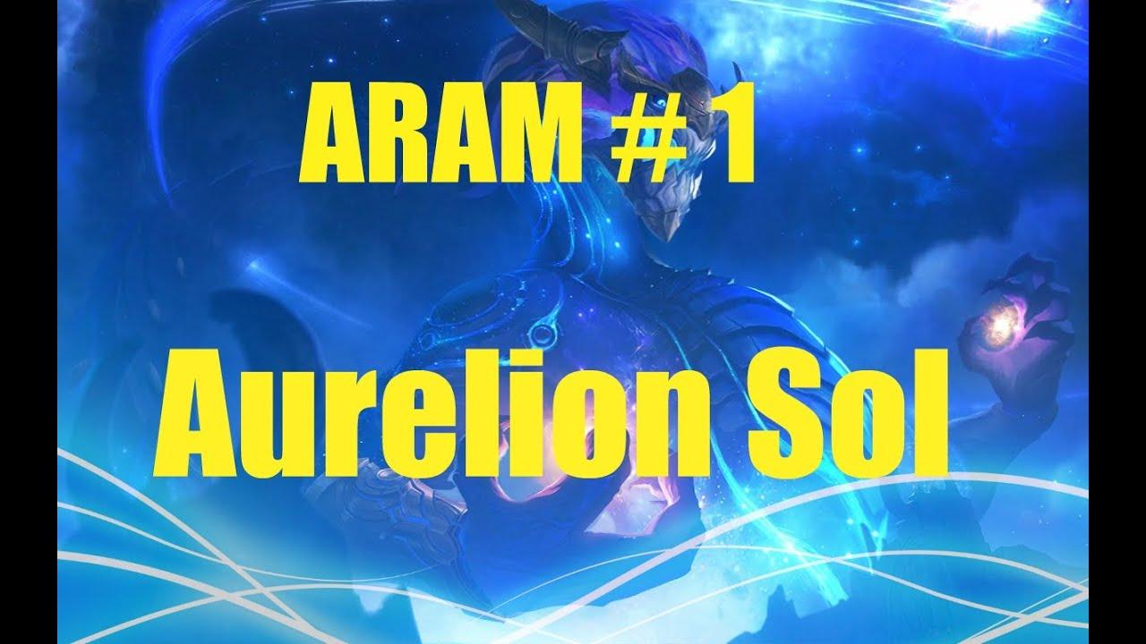 LoL ARAM #100 aurelion sol سلسلة جديدة ارام #100 ايرليون سول ملك النجوم
