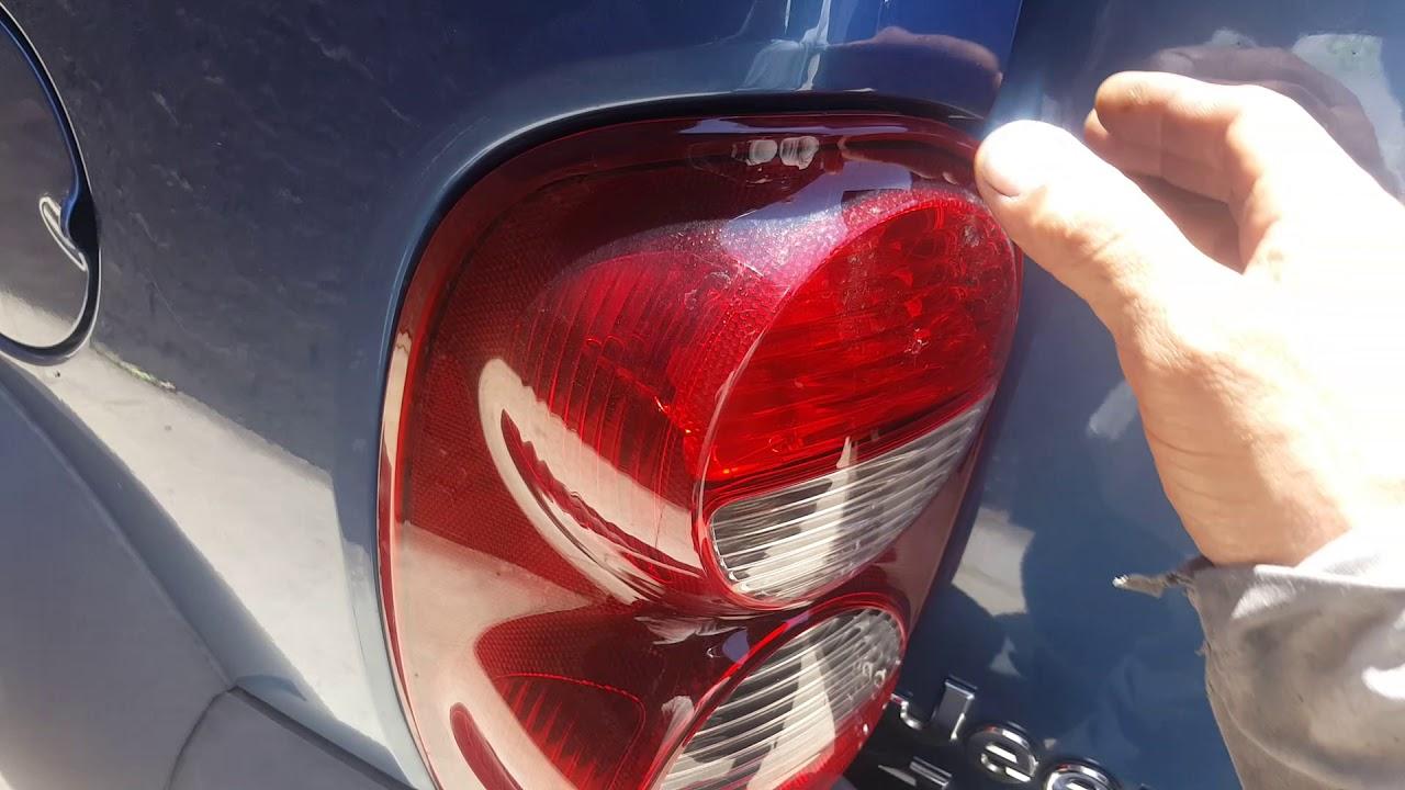 2005 Jeep Liberty Tail Light Problem Fix  Easy