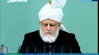 (Tamil) Friday Sermon 18th February 2011 - Islam Ahmadiyya