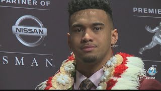 Rob Demello catches up with Tua Tagovailoa