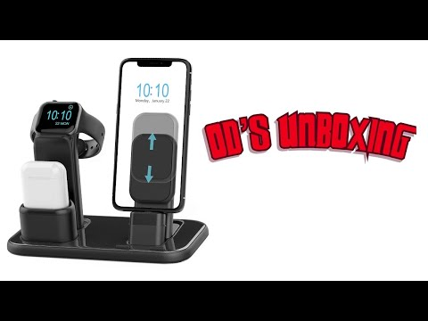 Beacoo Upgraded 3 in 1 Charging Stand for iWatch Series 5/4/3/2/1