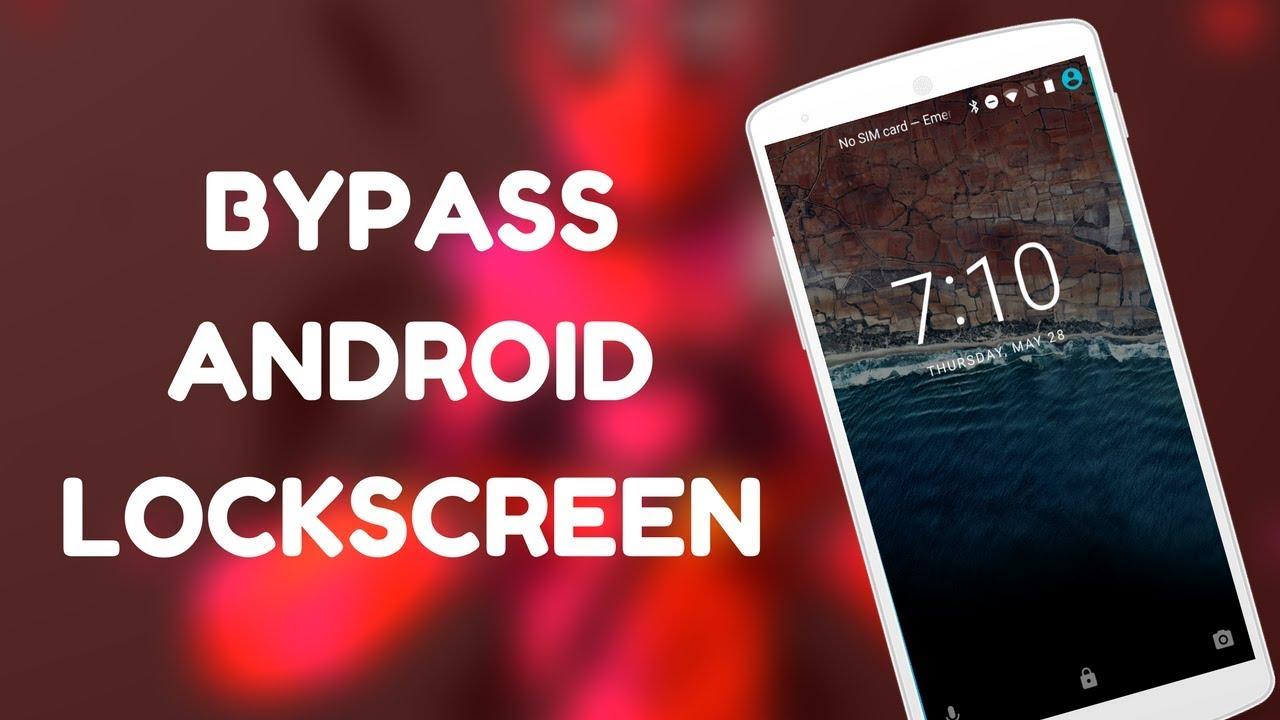 Bypass Android Lockscreen Using ADB | Unlock Pattern , Pin , Or Password