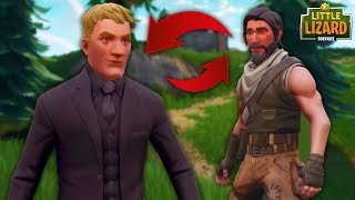JOHN WICK SWAPS BODIES WITH A NOOB!  Fortnite Short Film