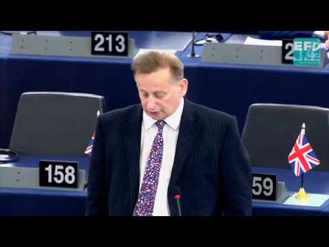 Encouraging destructive migration and sowing discord amongst EU nations - Raymond Finch MEP