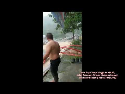 Banjir dan Lonsor di Aceh Tengah