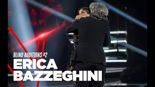 """Erica Bazzeghini """"Hope I Don't Fall In Love With You"""" - Blind Auditions #2 - TVOI 2019"""