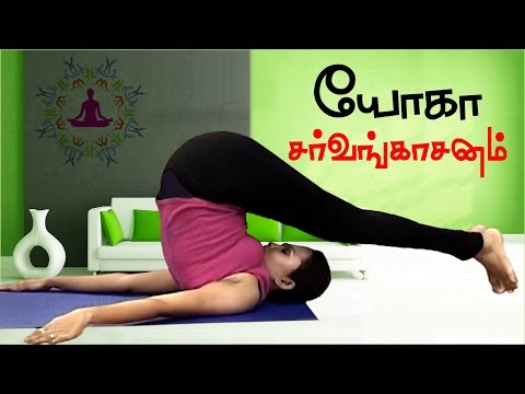 Sarvangasan Halasan Karnapidasan | Yoga for Obesity and Diabetes in Tamil | Meditation