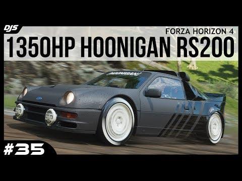 1350hp Hoonigan RS200 (X-Class) - Forza Horizon 4 - Car Collection #35 thumbnail