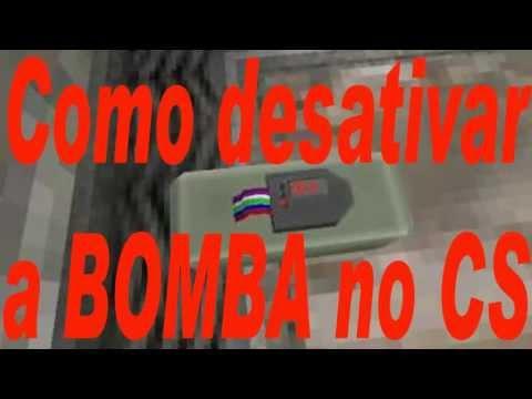 Como desarmar a BOMBA no CS-Counter Strike com o kit defuse
