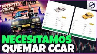 AUTOS CAROS, BAJA DEL TOKEN EN CRYPTO CARS - NFTs Blockchain Games