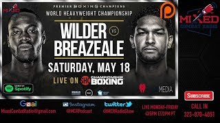Deontay Wilder vs Dominic Breazeale LIVE FIGHT CHAT & IMMEDIATE REACTION