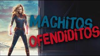 Capitana Marvel vs. MACHITOS OFENDIDITOS 💃