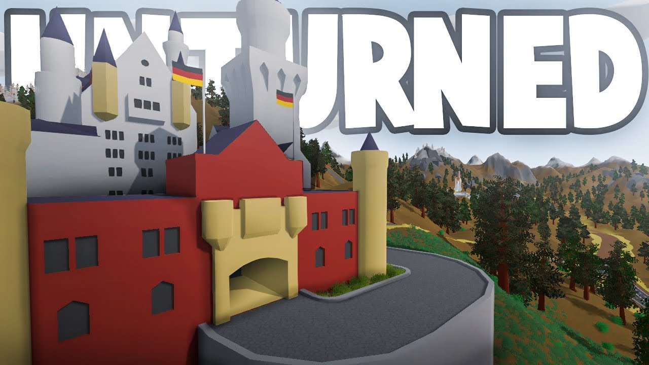 Unturned NEW GERMANY MAP Exploring Major Points Of - Berlin map unturned