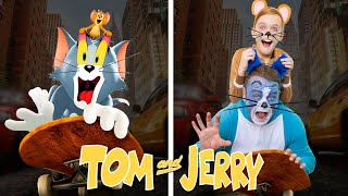 Tom and Jerry! Recreated by Kids Fun TV! Part 1