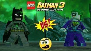 LEGO Batman 3 Beyond Gotham - Batman VS Coringa (Batalha de Heróis ) #11