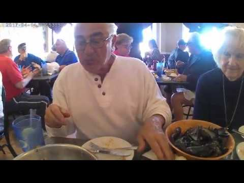 Nan And Papa Eating At The Causeway Restaurant In Gloucester Massachusetts