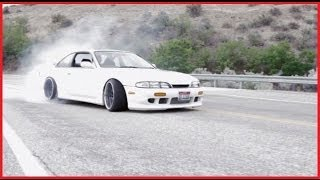 S14 Nissan Silvia: Low and wide!