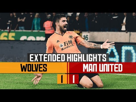 STUNNING NEVES STRIKE, PATRICIO PENALTY SAVE! | Wolves 1-1 Man United | Extended Highlights