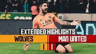 STUNNING NEVES STRIKE, PATRICIO PENALTY SAVE! | Wolves 1-1 Manchester United | Extended Highlights