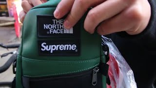 SUPREME WEEK 9 FW18 | THE NORTH FACE LEATHER JACKET | INFLATABLE CHAIR | LONDON INSTORE DROP2018 thumbnail