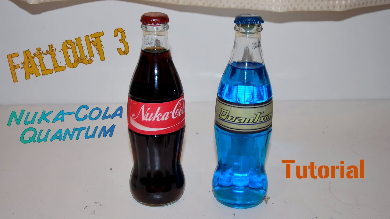 graphic regarding Nuka-cola Quantum Printable Label named Nuka Cola Quantum Guide. (With inside lights. No light-weight foundation)
