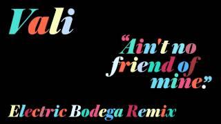 Vali - Ain't No Friend Of Mine (Electric Bodega Remix) (Official Audio)