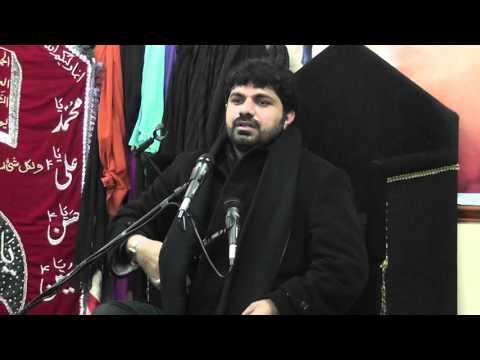 Allama asif raza Alvi hussaina islamic mission oldham 9th muharram 2015