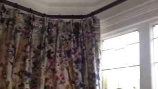 Bay Window Curtain Pole - revolutionary curtain pole system.