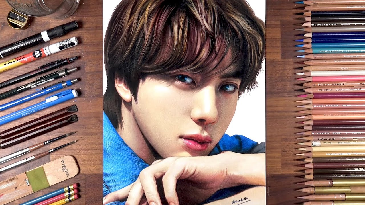 Drawing BTS: Jin | drawholic