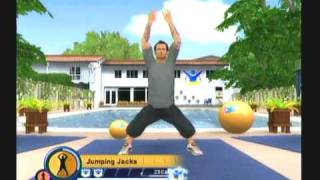 Wii Workouts - The Biggest Loser - Full Body Workout 1