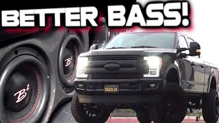 BETTER BASS! Under-Seat Box Swapped Out (6) 6.5\