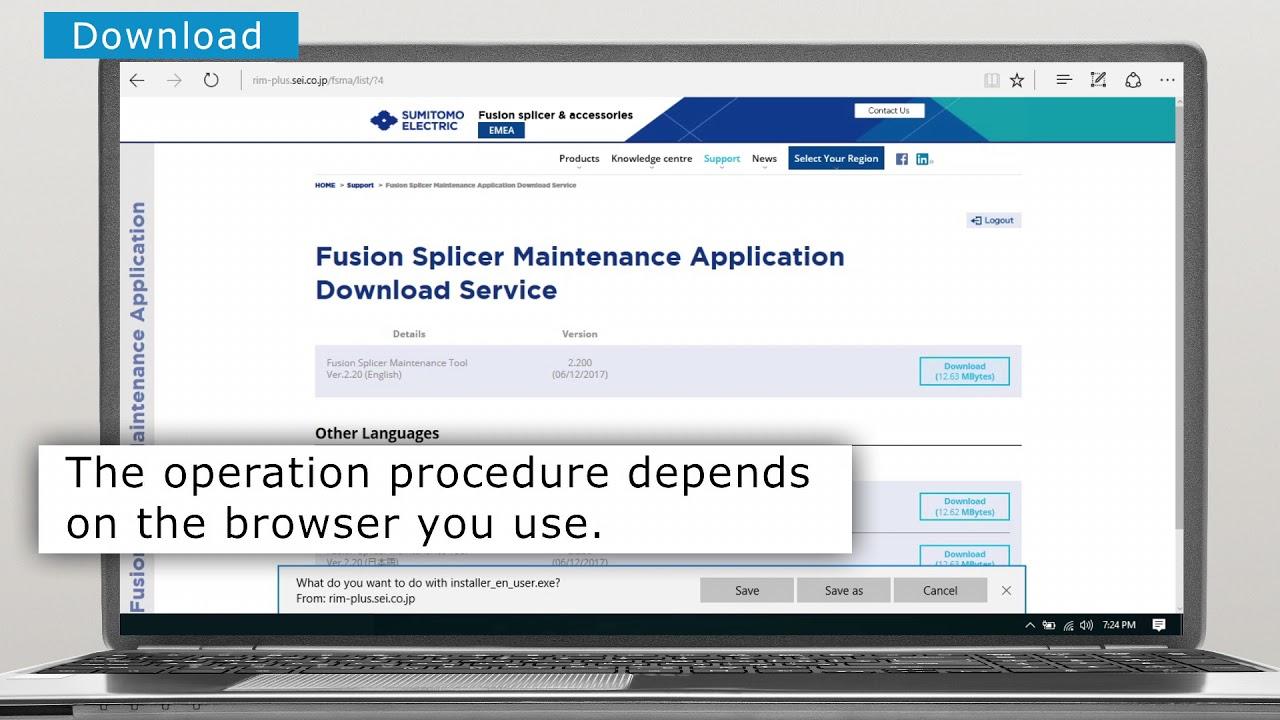 Sumitomo Electric Fusion Splicers | Sumitomo Electric