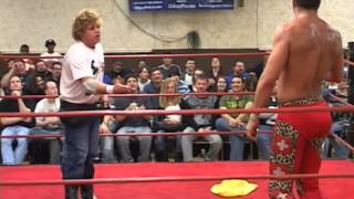 Larry Sweeney propositions Claudio Castagnoli [CHIKARA Armdrags to Riches]