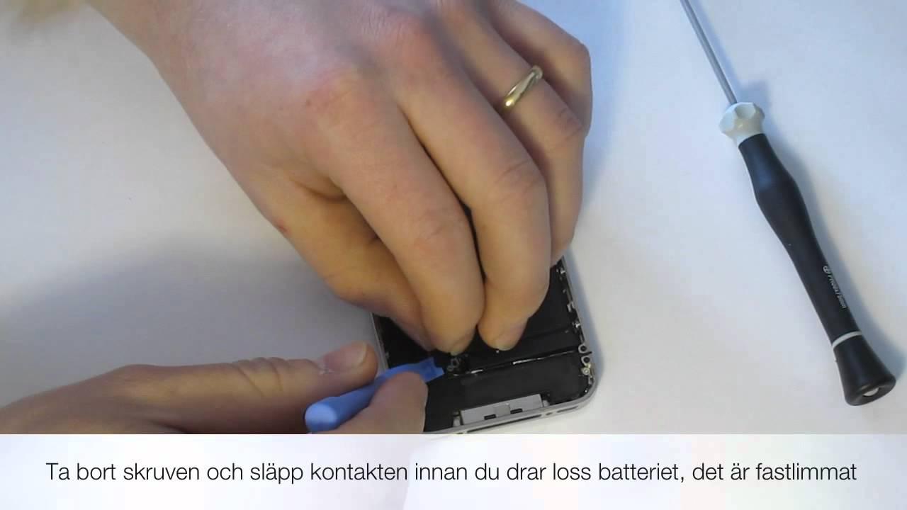 Byta batteri iphone växjö