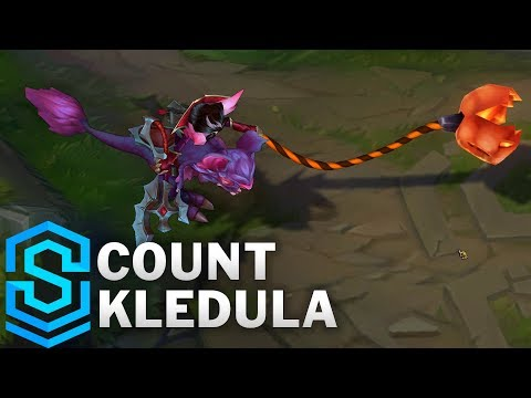Count Kledula Skin Spotlight - League of Legends