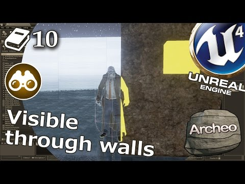 Unreal Engine 4 Guide - Actor visible through walls