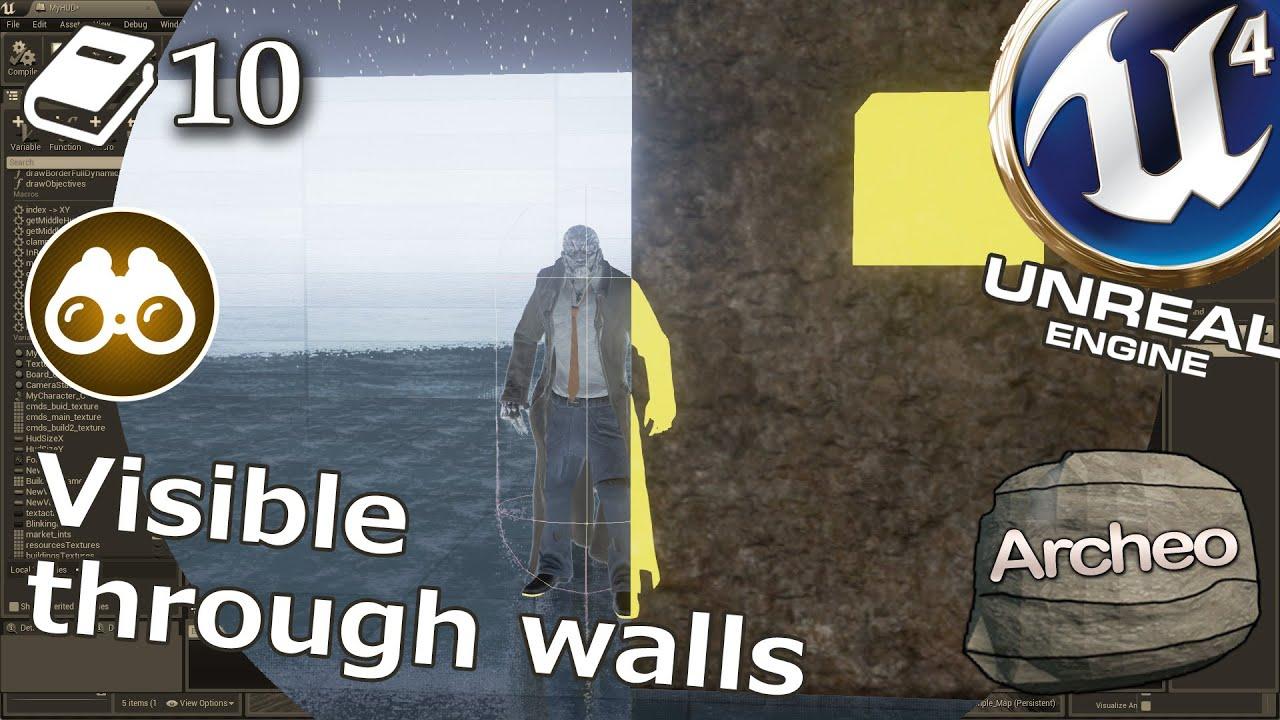 Unreal Engine 4 Guide - Actor visible through walls
