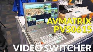 AVMATRIX PVS0615 Video Switcher at CES 2019