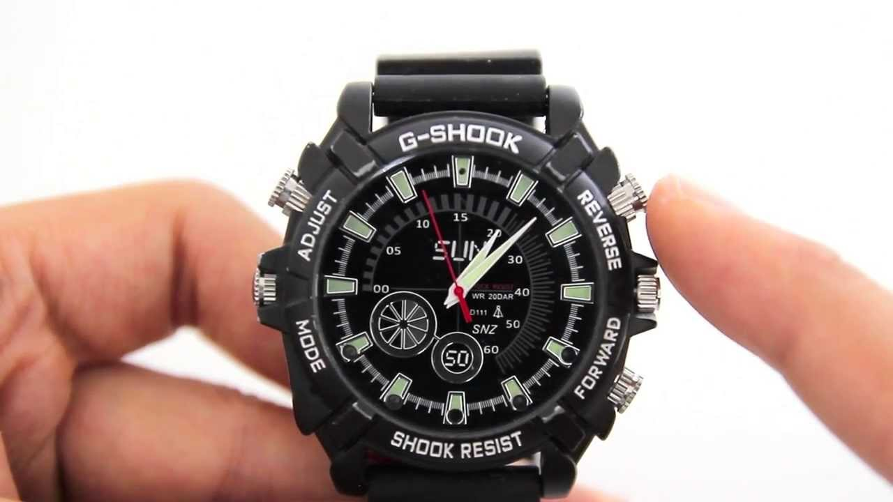 review of spy g shock full hd 1080p night vision. Black Bedroom Furniture Sets. Home Design Ideas