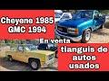 Camionetas Chevrolet Cheyenne 1985 Gmc 1995 Pickup Truck For Sale En Venta Tianguis De Autos Usados